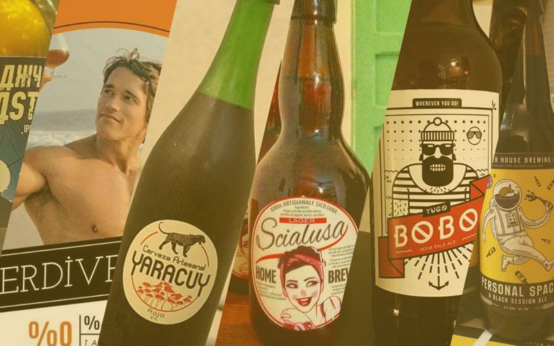 Bierlabels februari | Brouwbeesten
