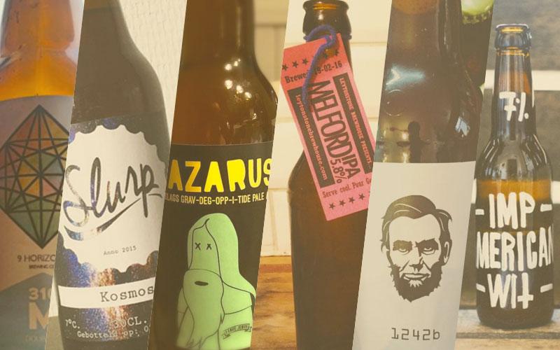 Bierlabels Maart 2016 | Brouwbeesten
