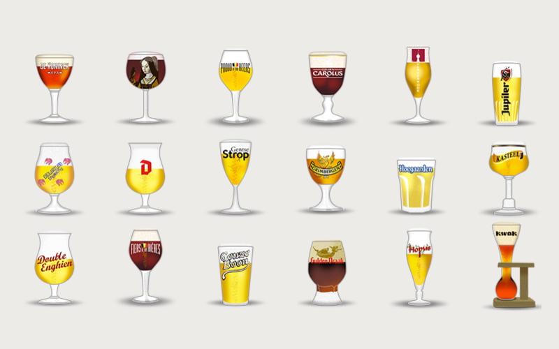 Belgen maken bieremoji's van eigen bieren | Brouwbeesten