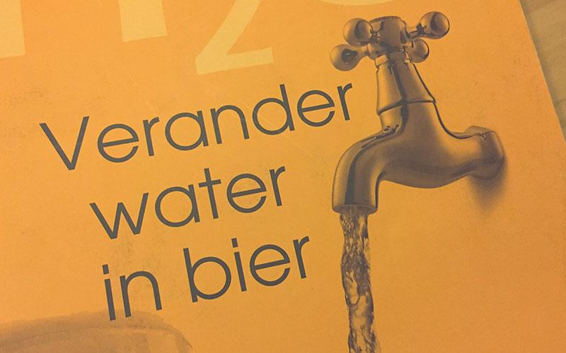Boekreview Verander water in bier