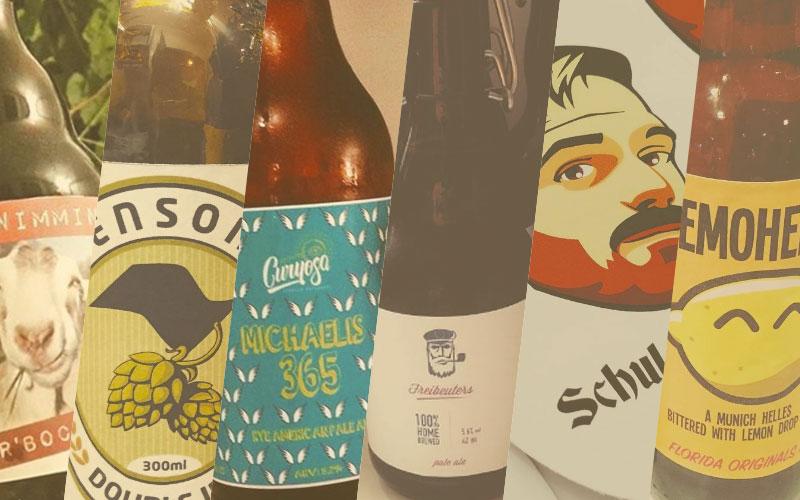mooiste bierlabels september 2016 | Brouwbeesten