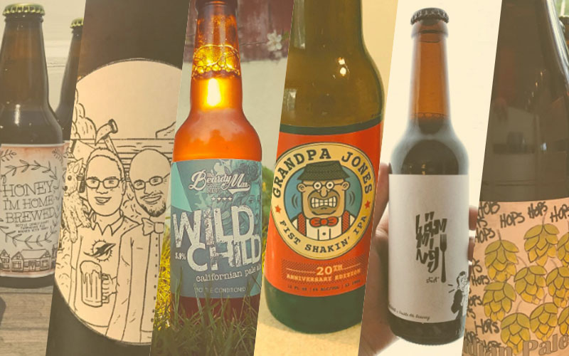 Mooiste bierlabels april 2017 | Brouwbeesten