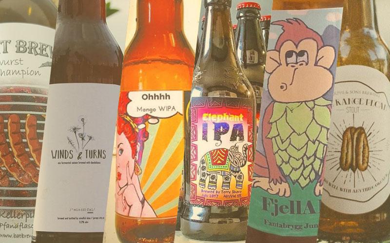 Mooiste bierlabels juli 2017 | Brouwbeesten