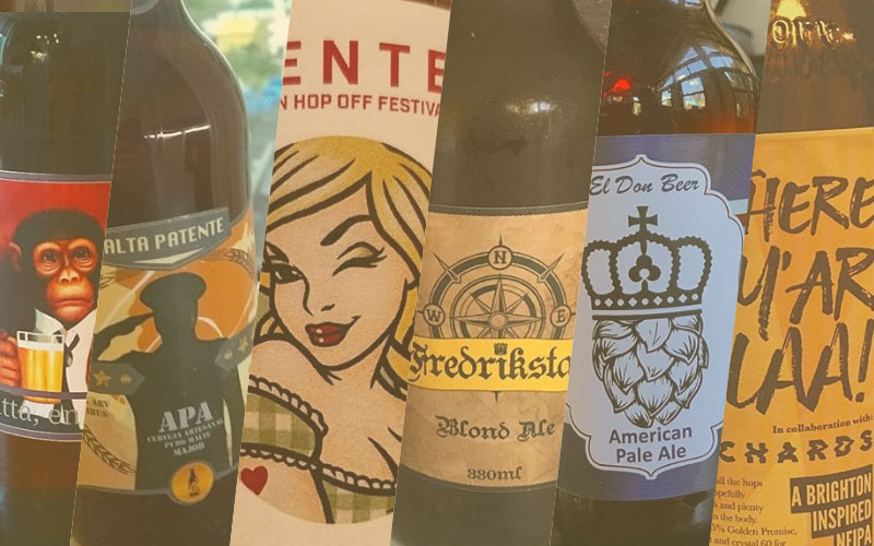 Mooiste bierlabels april 2018 | Brouwbeesten