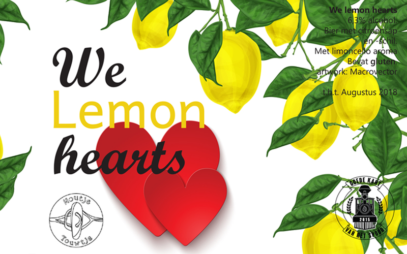 Recept Limoncello Saison 10 liter We lemon hearts | Brouwbeesten