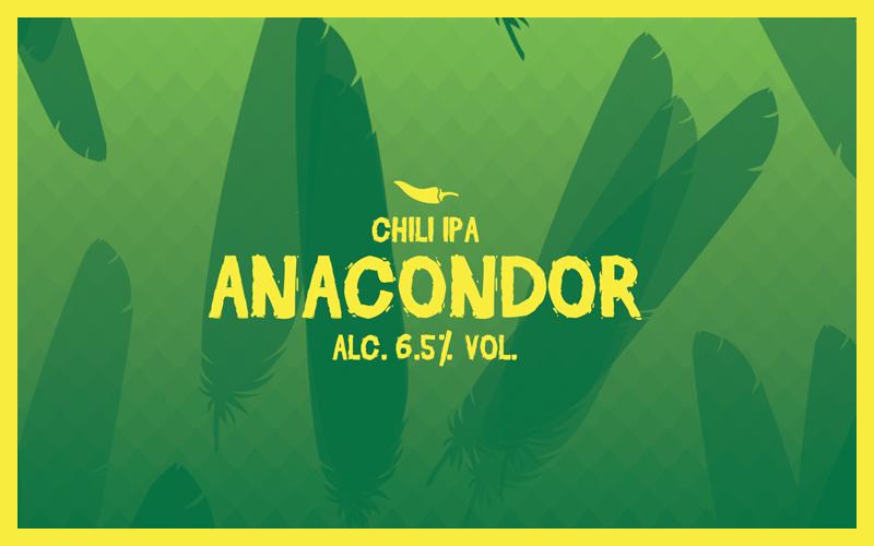 Recept Anacondor Chili IPA | Brouwbeesten