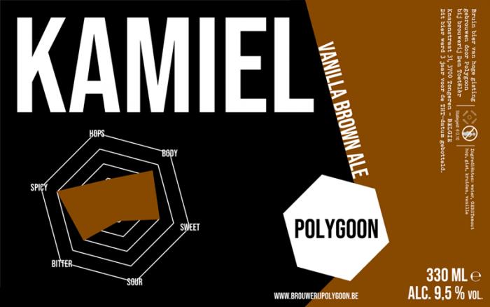 recept kamiel polygoon vanilla brown ale | Brouwbeesten